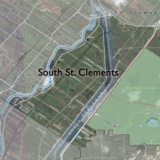 Map of south St. CLements