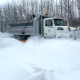 RM of St. Clements tandem plow and sanding truck