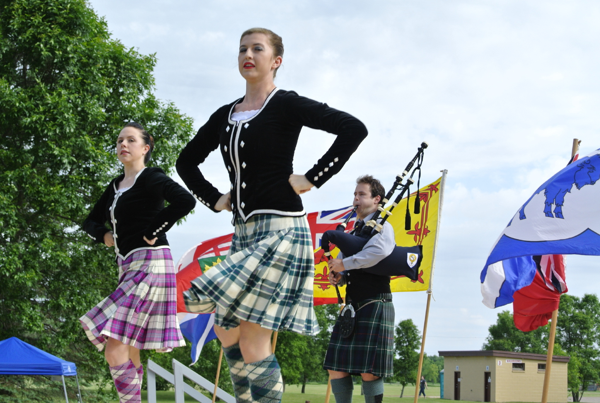 MAnitoba Highland Gathering dancers