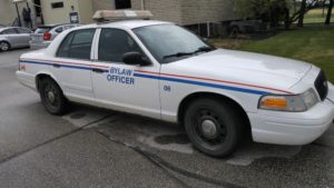 By-law enforcement vehicle
