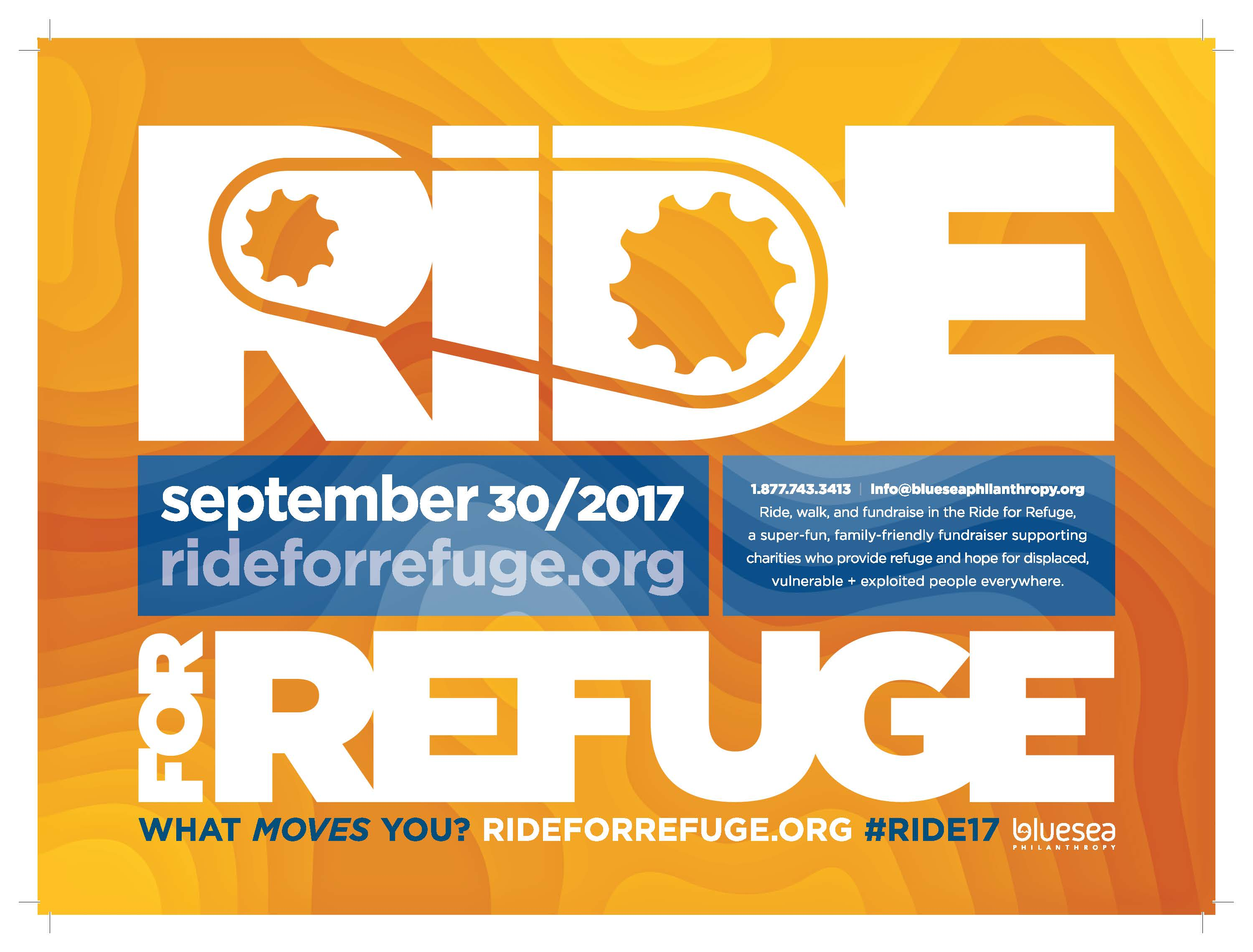 Ride for Refuge poster