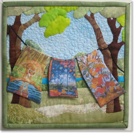 Quilt by Judith Panson
