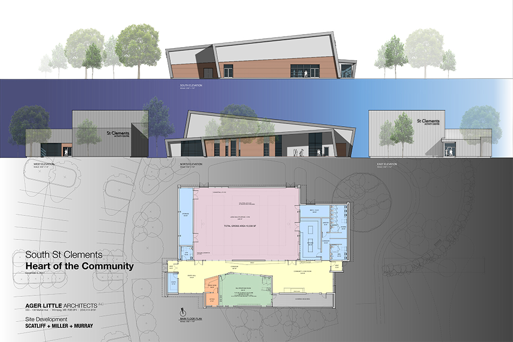 South St. Clements Recreation Centre - building plans