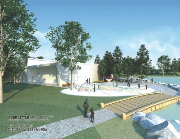 South St. Clements Recreation Centre - splash pad
