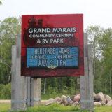 Grand Marais Community Central Sign