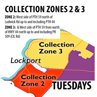 Curbside Zone 2 & 3 - Tuesdays