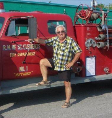 Ray Frey RM of St Clements Fire Department