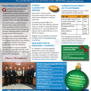 RM of St. clements newsletter winter 2018