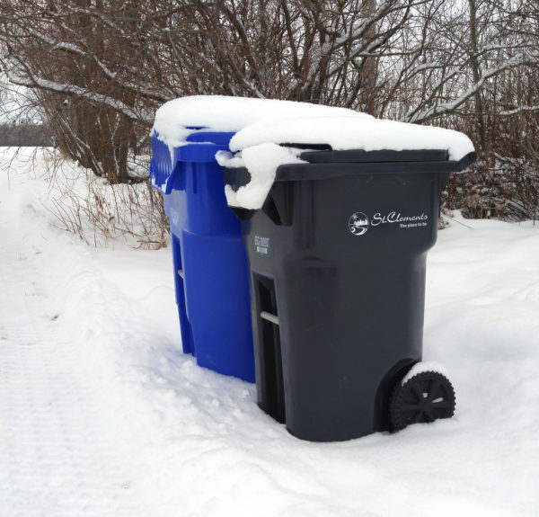 RM of St. Clements curbside cartswinter