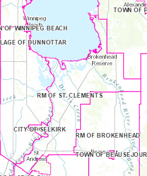 Manitoba Assessment Maps - Rural Municipality of St  Clements