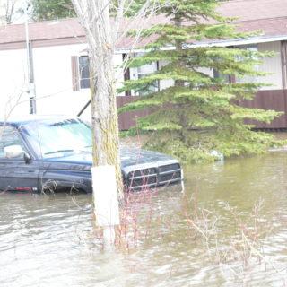 Flooded Cottage