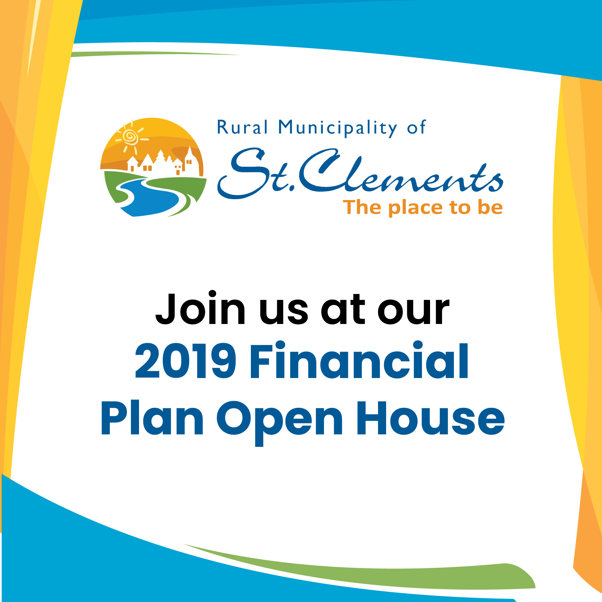 2019 Financial Plan Open House