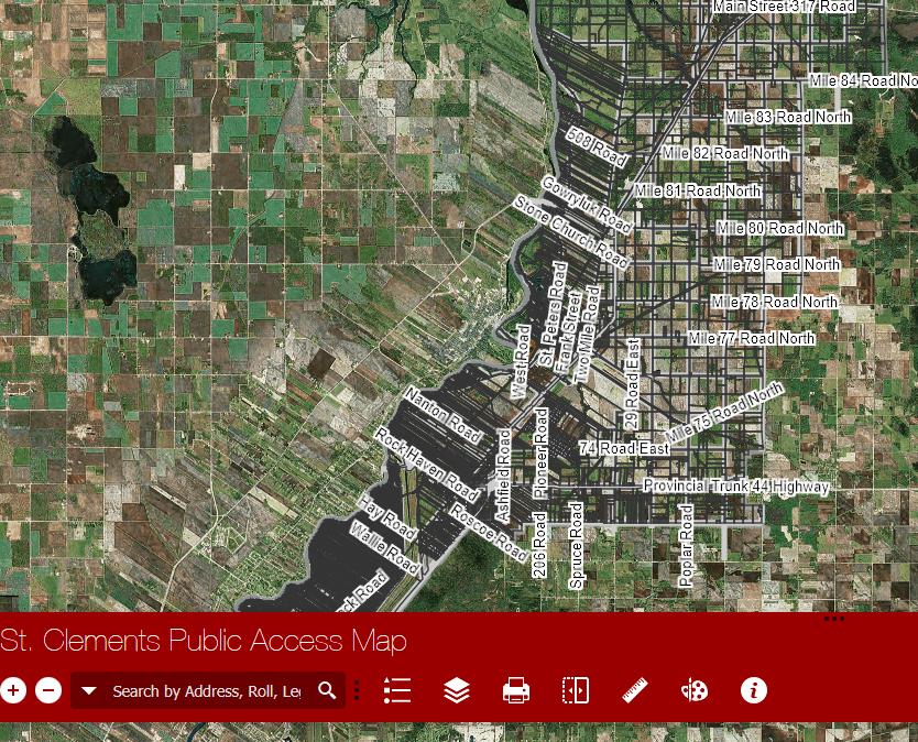 St. Clements Public Access Map
