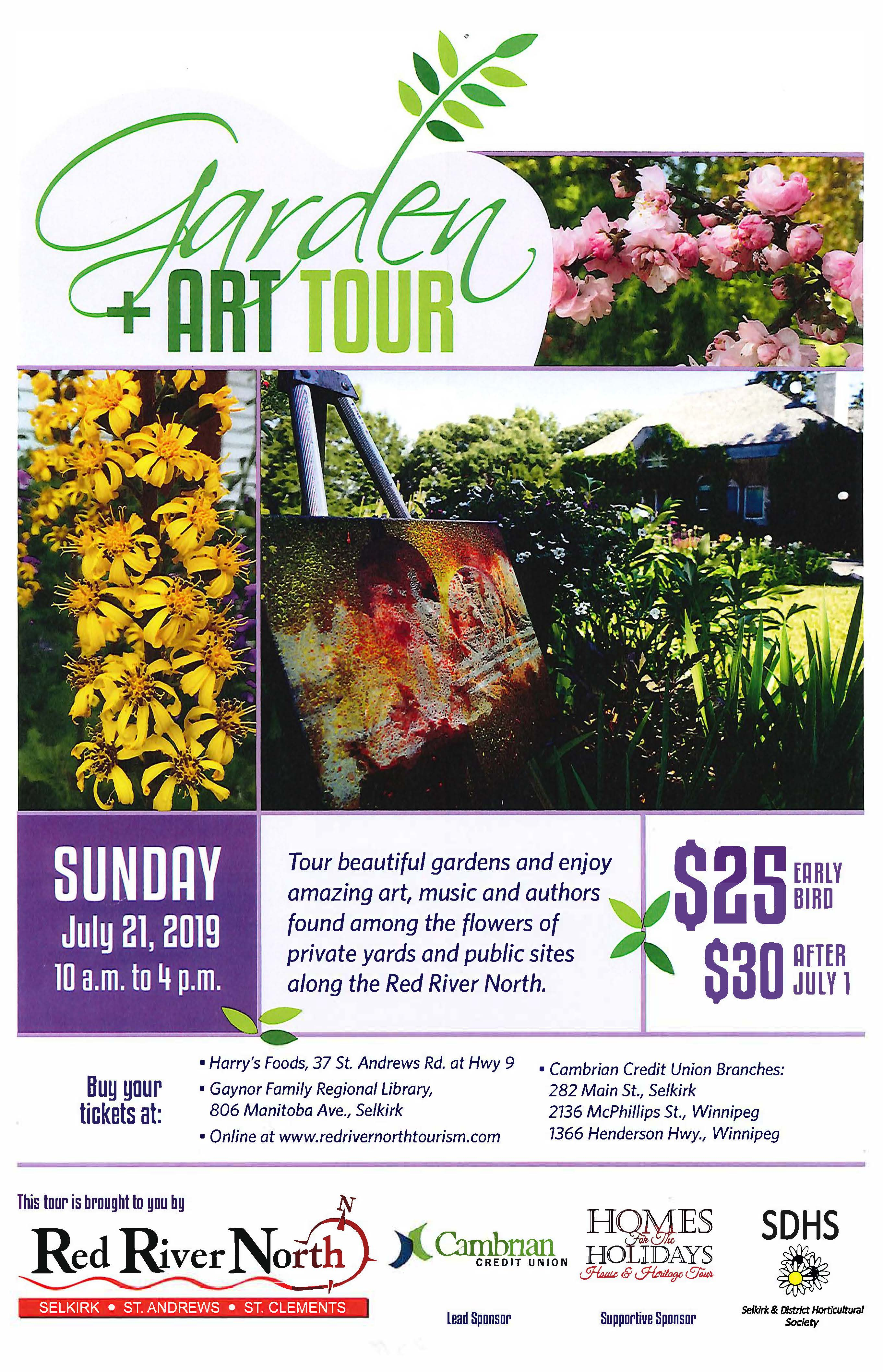 Garden and Art Tour 2019