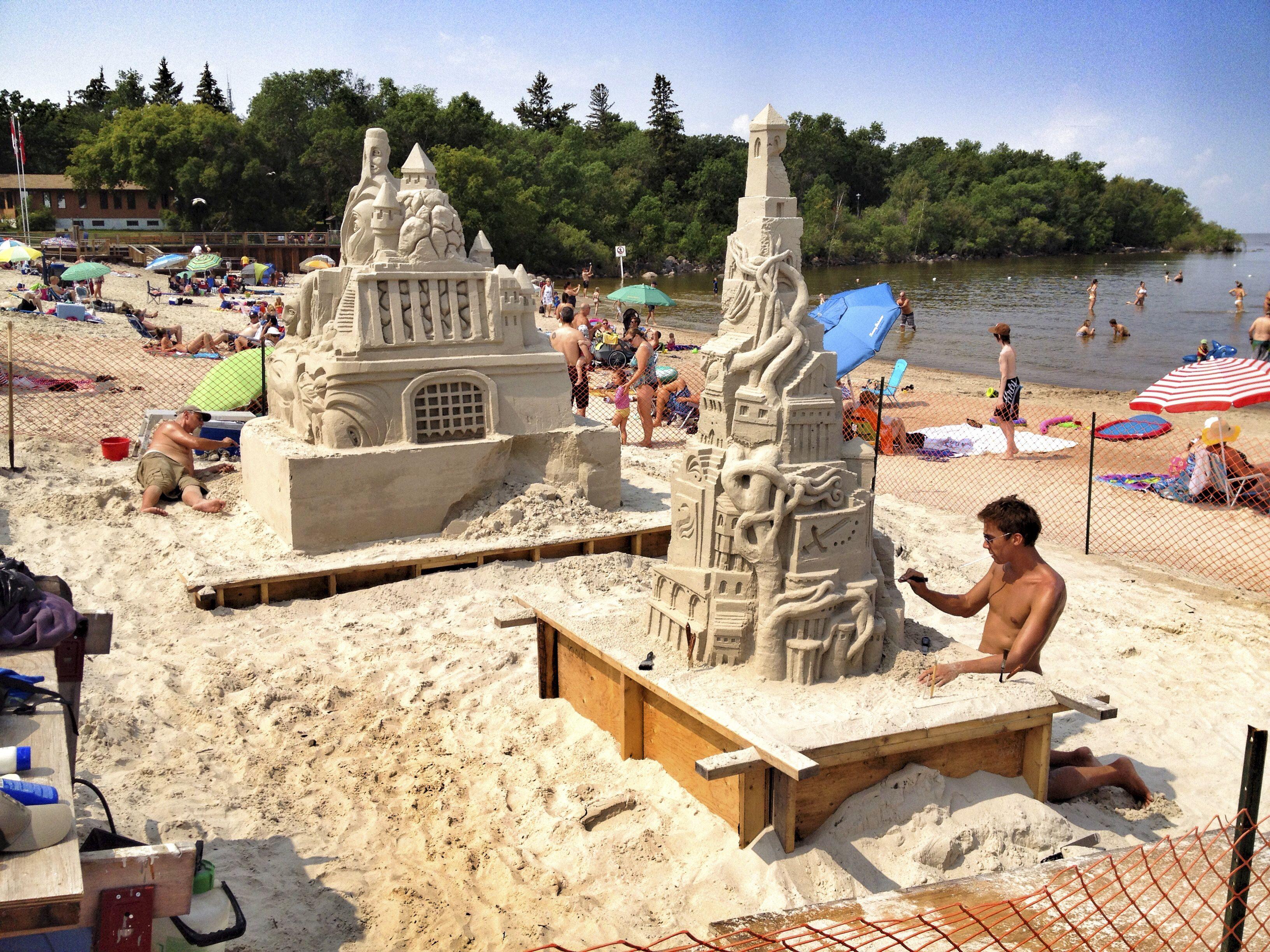 Grand Beach Sand Castle