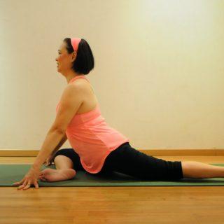 Yin-Yoga-pose
