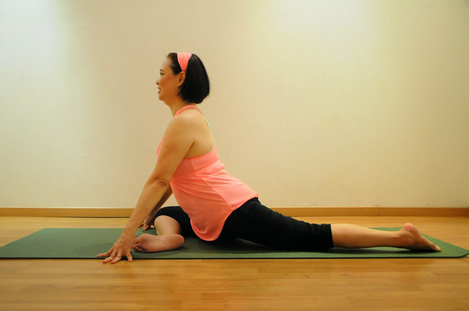 Yin-Yoga-pose